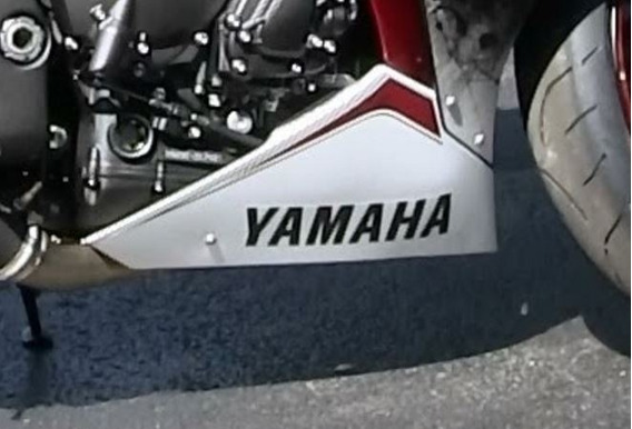Moto Yamaha Adesivo Yamaha Do Spoiler R1 R3 R6 Xj6f