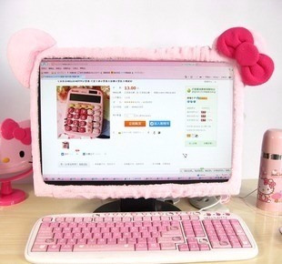Forro De Monitor Hello Kitty