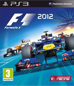 F1 2012 Ps3 - Mídia Física | Com Nf E Garantia Playgorila