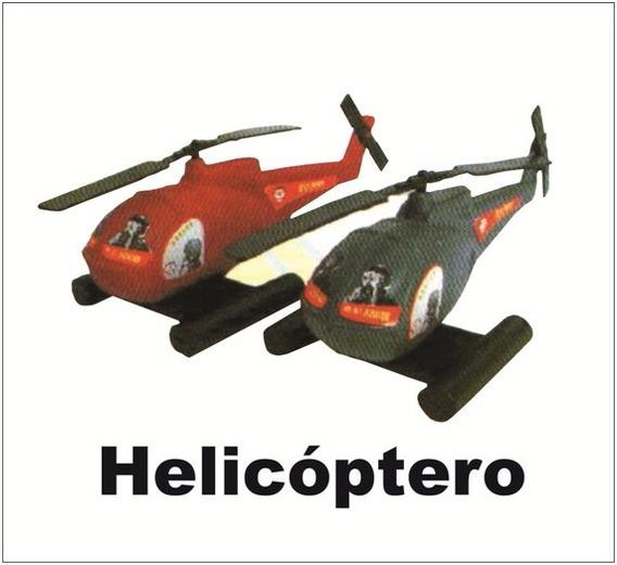 Molde De Brinquedo Helicóptero