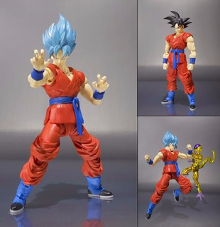 Dragon Ball Z Goku God Blue Sh Figuarts Bandai 100% Original
