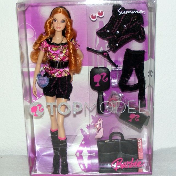Barbie Collector Model Muse Summer Top Model 2008 Rara