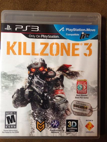 Killzone 3 Espetacular Semi Novo Sem Risco Ou Marca.