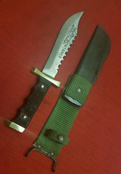 Antiguo Cuchillo Fabricaciones Militares El Montañés, Sable