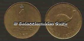 1 Centavo De Austral De 1987, Ñandú, Sin Circular, Unc