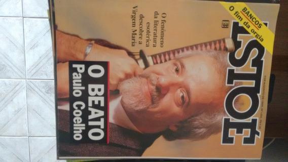 Revista Isto É... O Beato Paulo Coelho - Agosto 1994