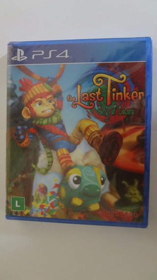 The Last Tinker City Of Colors Ps4 Física - Novo E Lacrado