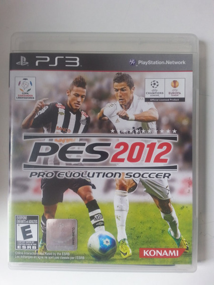 Pro Evolution Soccer 2012 - Pes 2012. Ps3 - Midia Fisica.