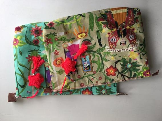 Handbag Frida Claro/ Verde Agua