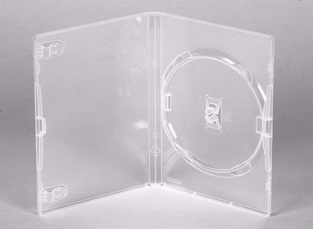 Capa Estojo Caixa Dvd Slim Amaray - Transparente 50 Unidades