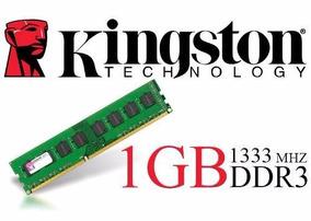 Memória 1gb Ddr3 1333mhz Kingston