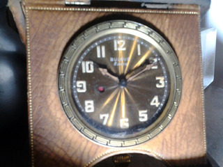 Reloj Bulova De Viaje A Cuerda