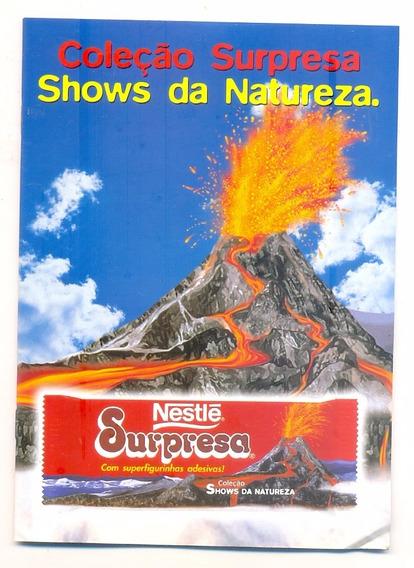 *sll* Álbum - Nestle Surpresa Shows Da Natureza - Completo