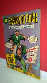 Hq Epopéia Ebal/1967 Sargento Rock Nº2 Histórias De Guerra !