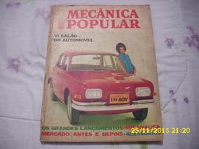 Revista Mecanica Popular Dezembro 1968 - Vi Salão Automovel