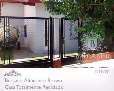 Casa Tipo Chalet A Nuevo Apto Crédito En Burzaco