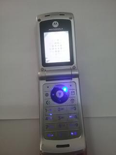 Celular Motorola W375 Uso Placa Mae Teclado Display