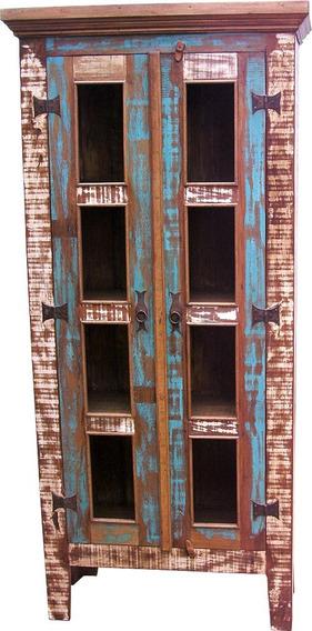 Armário Rustico Em Madeira De Demolição