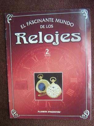 Revista Catalogo  El Fascinante Mundo De Los Relojes #2