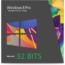 Cd De Instalação Wind©ws 8.1 Pro 32 Bits - Ativação Original