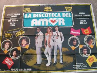 Cartel Poster Afiche La Discoteca Del Amor