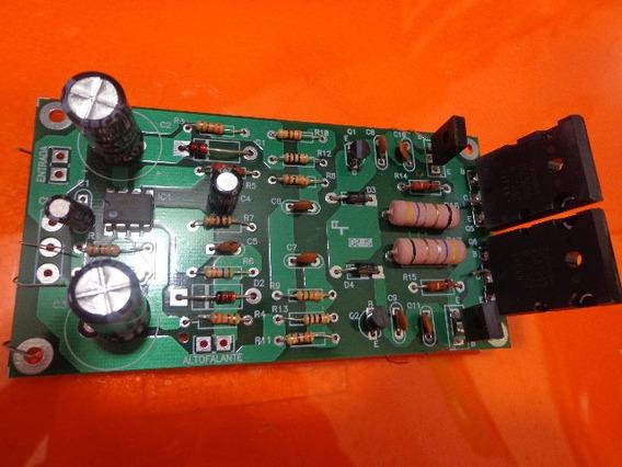 Placa Pci 150w Semi Montada Kit/serve Gradiente 166 246-366