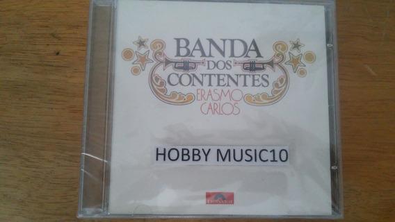 Cd Original Erasmo Carlos - Banda Dos Contentes - Cd Lacrado