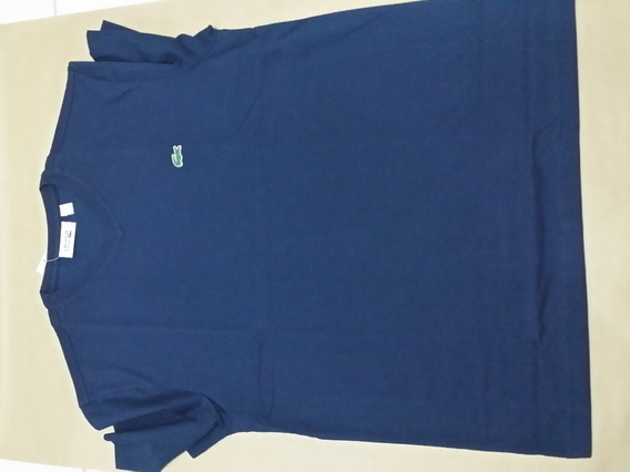 Camiseta Mc Lacoste Lisa Azul