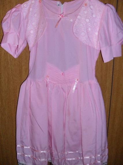 Vestido De Fiesta Para Nena T 8 Como Nuevo Oferton!!