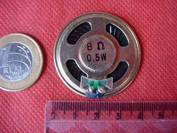 2 Peças - Alto Falante Mini 36mm 0.5w 8ohm Speaker Brinquedo