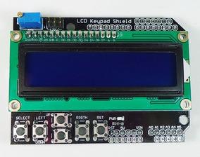 Display Lcd Keypad Shield 16x2 1602 Teclado Botoes Arduino