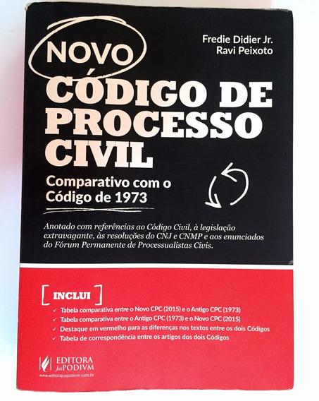 Código De Processo Civil Comparativo Com O Código 1973x2015