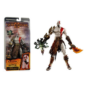 Boneco Kratos God Of War 2 Oficial Playstation + Acessórios