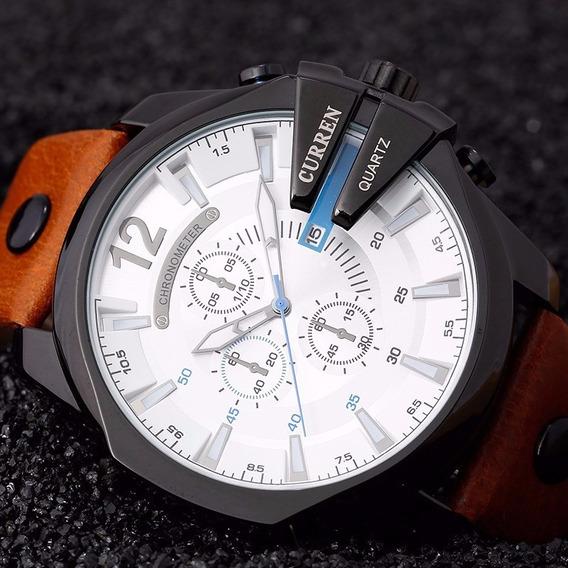 Relógio Masculino De Luxo Curren 6 Modelos Disponíveis