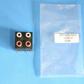 Conector Auxiliar Para Caixa Amplificada Lenoxx Ca318/ca320
