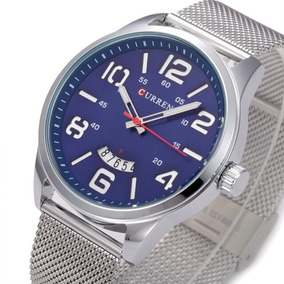Relógio Currem Original De Luxo Prova D