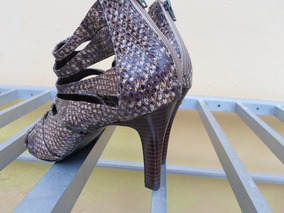 33c3996a6 Sapato Imita O Couro De Cobra Feminino - Sapatos com o Melhores ...