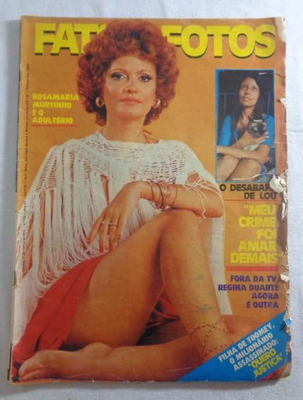 Revista Fatos E Fotos Rosamaria Murtinho N°708 Marcho 1975