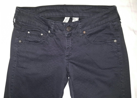 Mng-mango Barcelona-pantalon Negro Animal Print-usa 2/34