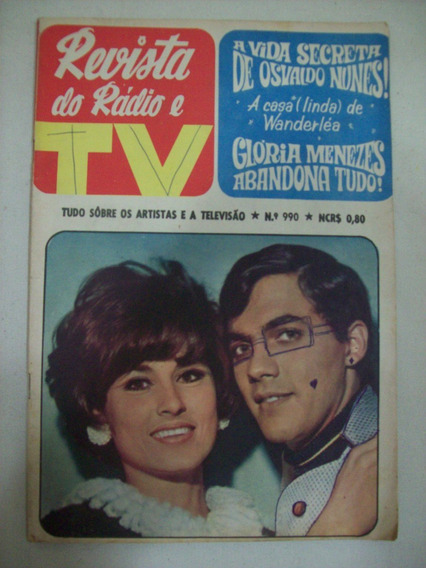Revista Do Rádio E Tv - N990 - Osvaldo Nunes,jece,wanderléa