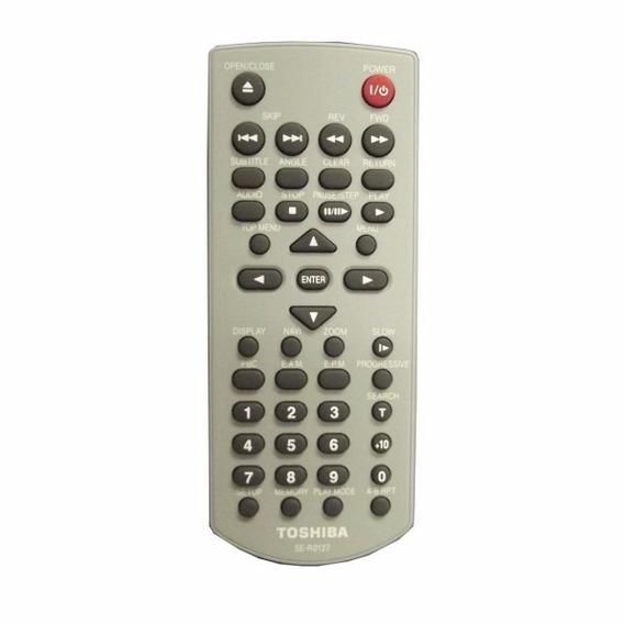 Controle Remoto Dvd Toshiba Se-r0127 Sd300sc Sd3960su Sdk741