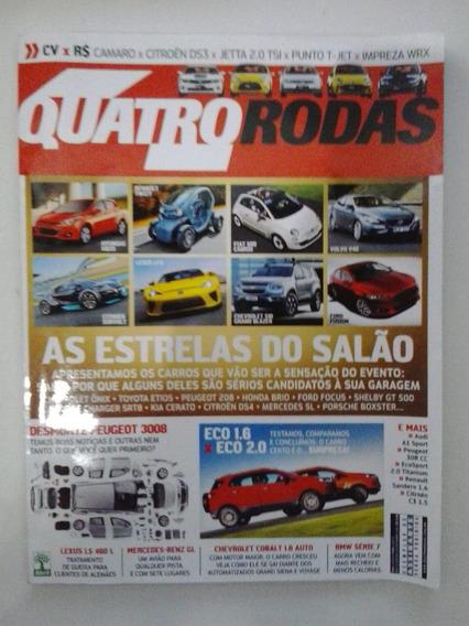 Revista Quatro Rodas N° 634 - Setembro 2012 - Frete Grátis