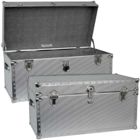Baul Gabinete De Acero Maleta Case Mercury Luggage Importado