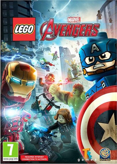 Lego Marvels Avengers Em Portugues Pc- Dvd Frete Gratis