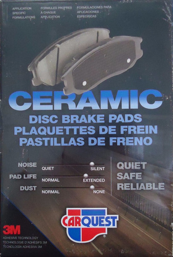 Pastilla De Freno Delant Expedition 03-06 Carquest Bxd934h