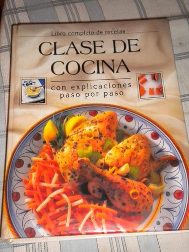 Imagen 1 de 4 de Libro Clase De Cocina