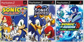 Patch Sonic Collection (3 Jogos) Para Ps2 Leia A Descrição