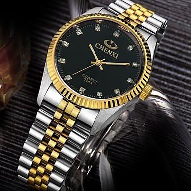 Relogio Pulseira De Ouro Relógio De Quartzo Chenxi