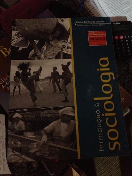 Livro Introdução À Sociologia, Volume Único
