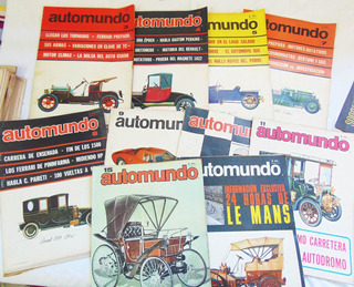 Revista Automundo / Números Discontinuos 1965 A 1967